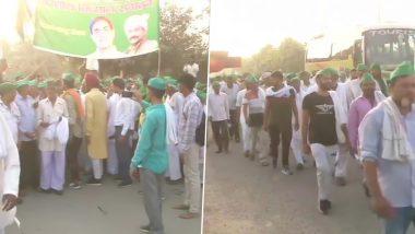 Farmers' Protest in Delhi: हजारों की संख्या में नाराज यूपी के किसान दिल्ली में करेंगे प्रदर्शन, भारी पुलिसबल तैनात