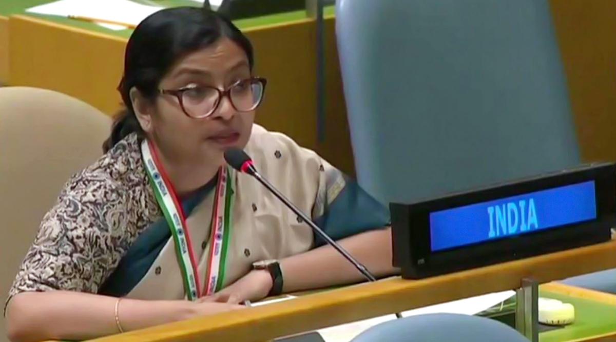 UN में इमरान खान के झूठ को भारत ने किया बेनकाब, विदिशा मैत्रा ने कहा- आतंकियों को पेंशन देती है पाक सरकार