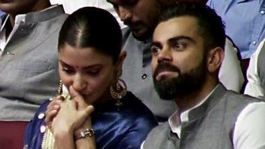 विराट कोहली से जुड़ी ये कहानी सुनकर भावुक हुईं अनुष्का शर्मा, Kiss करके जताया प्यार, देखें Viral Video