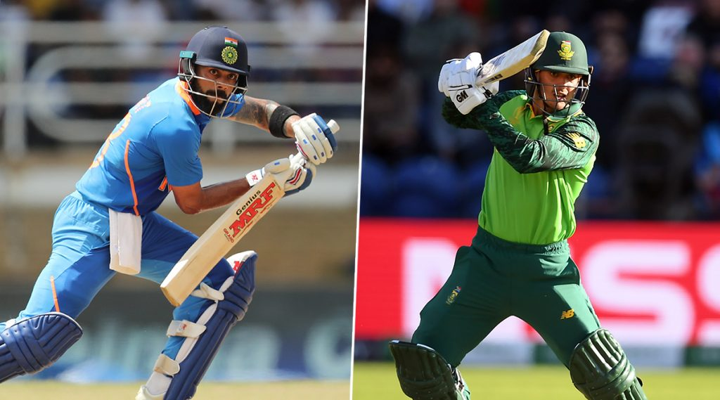 India vs South Africa 1st T20I 2019 Live Score Update: बारिश के कारण टॉस में देरी