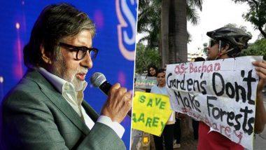 अमिताभ बच्चन को मुंबई मेट्रो का समर्थन करना पड़ा महंगा, भड़के मुंबईकरों ने घर के बाहर किया प्रदर्शन