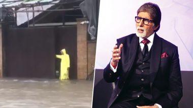 बारिश से बेहाल मुंबई: अमिताभ बच्चन के बंगले में घुसा पानी, सामने आया ये Video