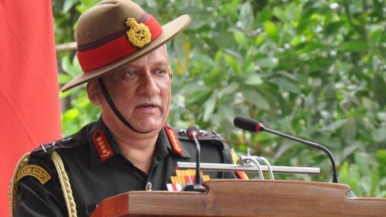 आर्मी चीफ बिपिन रावत का बड़ा बयान, कहा- पीओके पर सरकार को लेना है फैसला, आर्मी पूरी तरह तैयार