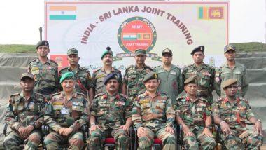 बंगाल की खाड़ी में भारत और श्रीलंका की नौसेनाओं ने शुरू किया संयुक्त अभ्यास