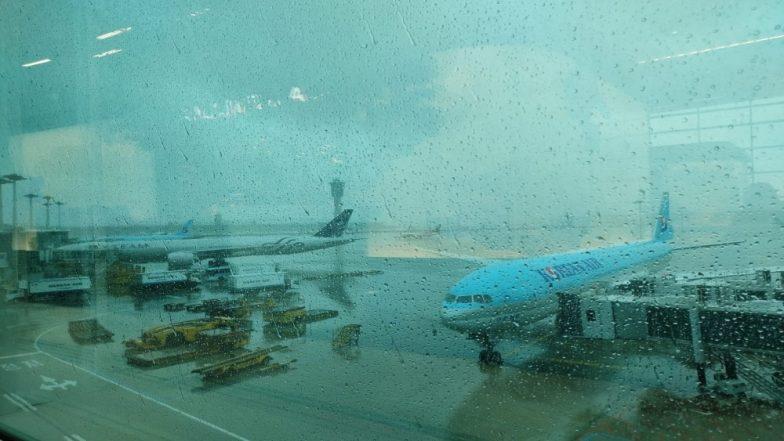 दक्षिण कोरिया में तूफान लिंगलिंग से 3 की हुई मौत, सैकड़ों उड़ानें रद्द