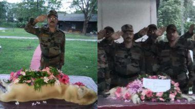सेना की ईस्टर्न कमांड ने 'डच' डॉग की मौत पर जताया शोक, राष्ट्र की सेवा करने वाले इस नायक को ऐसे दी श्रद्धांजलि