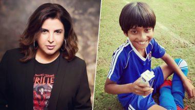 फराह खान ने शेयर की बेटे की फोटो, कहा- कैंप पर जाने के बाद ये गजनी ही बन गया