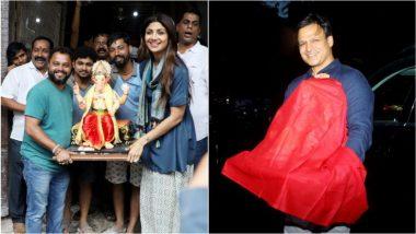 Ganesh Chaturthi: शिल्पा शेट्टी से लेकर विवेक ओबेरॉय तक के घर विराजे बप्पा, देखें तस्वीरें और वीडियोज