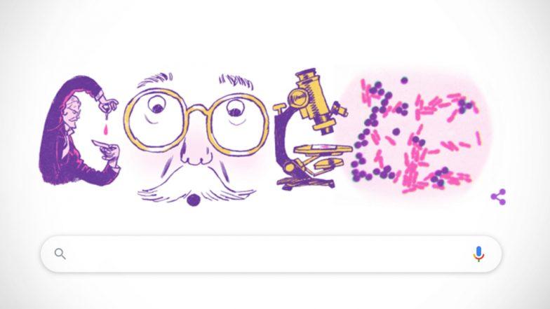 हान्स क्रिश्चियन ग्रैम की 166वीं जयंती पर Google ने बनाया खास Doodle, जानिए कौन थे Hans Christian Gram