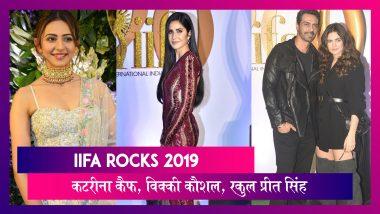 IIfa Rocks 2019: Katrina Kaif, Vicky Kaushal, Arjun Rampal सहित कई सेलेब्स ने अटेंड किया इवेंट