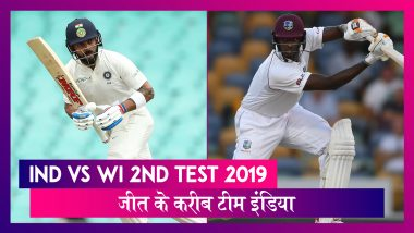 IND vs WI 2nd Test 2019: जीत के करीब टीम इंडिया