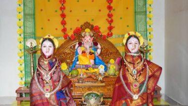 Jyeshtha Gauri Puja 2019: गणेशोत्सव के तीसरे दिन किया जाता है ज्येष्ठा गौरी का आह्ववान, जानें शुभ मुहूर्त, पूजा विधि और गौरी विसर्जन की तिथि