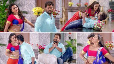 Hot Bhojpuri Song Video: खेसारी लाल यादव और काजल राघवानी के इस गाने का इंटरनेट पर धमाका, 10 करोड़लोगों ने देखा वीडियो