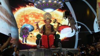 Lalbaugcha Raja 2019 Mukh Darshan LIVE Streaming Day 10: गणेशोत्सव के 10वें दिन मन्नतों के राजा की आरती और मुख दर्शन का मौका न गवाएं, देखें लालबागचा राजा गणेश पंडाल से लाइव टेलीकास्ट