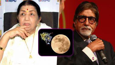 चंद्रयान-2 मिशन पर अमिताभ बच्चन-लता मंगेशकर ने कही दिल जीतने वाली बात, इसरो को दी शाबासी