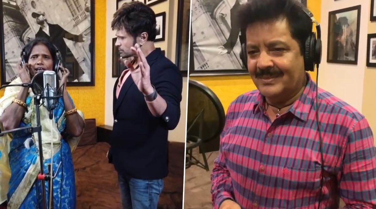 रानू मंडल ने उदित नारायण के साथ रिकॉर्ड किया गाना, हिमेश रेशमिया ने शेयर किया ये खूबसूरत Video