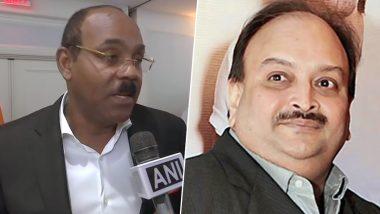 PNB घोटाला: एंटीगुआ के पीएम गैस्टन ब्राउन ने मेहुल चोकसी को बताया 'धोखेबाज', कहा- जल्द भेजा जाएगा भारत