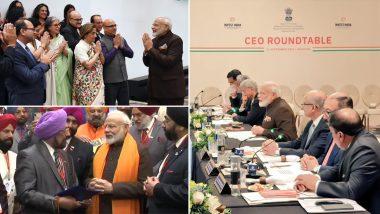 पीएम मोदी का US दौरा: सिख और बोहरा समुदाय सहित कश्मीरी पंडितों से मिले प्रधानमंत्री, ऊर्जा क्षेत्र के सीईओ के साथ की अहम बैठक, आज 'Howdy Modi' कार्यक्रम में होंगे शामिल