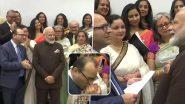 ह्यूस्टन में कश्मीरी पंडितों से मिले प्रधानमंत्री मोदी, एक शख्स ने चूमा पीएम का हाथ- देखें VIDEO