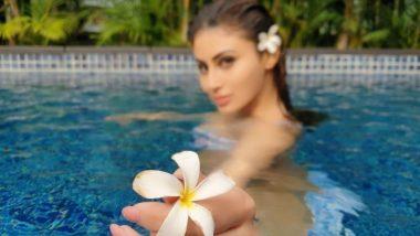 अक्षय कुमार की हिरोइन मौनी रॉय पूल में नहाते हुए आई नजर, पारा बढ़ा देगी उनकी ये फोटो