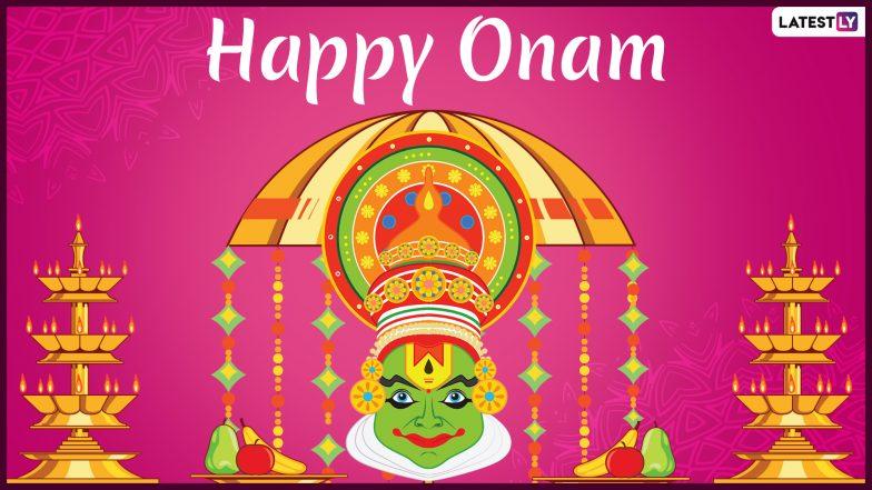 Onam 2019 Wishes And Messages: ओणम के शुभ अवसर पर प्रियजनों को भेजें ये शानदार WhatsApp Stickers, GIFs, Facebook Greetings, Photo SMS और दें शुभकामनाएं