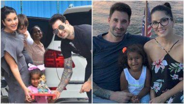 बेटी और पति के साथ बाप्पा को लेने पहुंची सनी लियोनी, बाल गणेशा को देख खुशी से खिल उठा पूरा परिवार