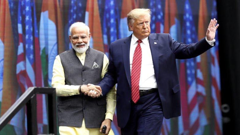 प्रधानमंत्री नरेंद्र मोदी ने 'हाउडी मोदी कार्यक्रम' में भव्य स्वागत के लिए अमेरिकी राष्ट्रपति डोनाल्ड ट्रंप और अमेरिका को किया धन्यवाद