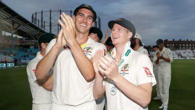 ICC Test Rankings: स्टीव स्मिथ और पैट कमिस की बड़ी छलांग, ताजा टेस्ट रैंकिंग में पहला स्थान कायम