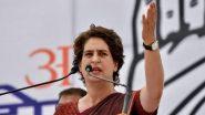 प्रियंका गांधी ने अर्थव्यवस्था को लेकर पीएम मोदी पर साधा निशाना,  उनके 'चुप्पी' पर  उठाए सवाल