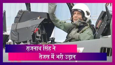 Rajnath Singh ने Tejas में भरी उड़ान, ऐसा करने वाले बने पहले रक्षा मंत्री