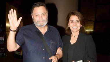 11 महीने 11 दिन बाद न्यूयॉर्क से इलाज कराके भारत लौटे ऋषि कपूर, मुंबई एअरपोर्ट पर पत्नी के साथ आए नजर
