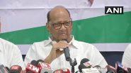 Delhi: शरद पवार के घर विपक्षी दलों की बैठक खत्म, एनसीपी नेता बोले- कई मुद्दों पर हुई चर्चा, BJP के खिलाफ नहीं थी मीटिंग