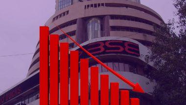 सेंसेक्स की शीर्ष दस कंपनियों का बाजार पूंजीकरण 4.22 लाख करोड़ रुपये घटा
