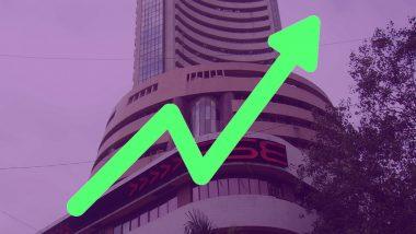 शेयर बाजार में बल्ले-बल्ले: सेंसेक्स ने बनाया नया रिकॉर्ड, निफ्टी भी 12 हजार के पार