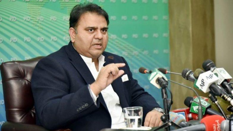 पाकिस्तानी हाई कोर्ट ने पाक मंत्री फवाद चौधरी को अयोग्य करार देने के मामले पर जारी किया नोटिस
