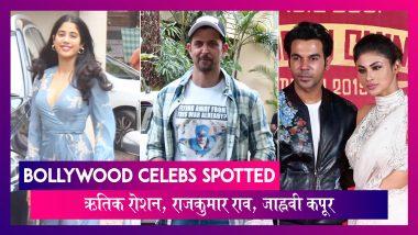 Bollywood Celebs Spotted: Hrithik Roshan ने किया War का प्रमोशन, Janhvi Kapoor भी हुईं स्पॉट