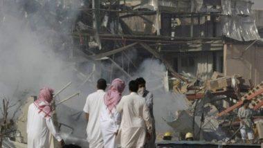 सऊदी अरब की सबसे बड़ी तेल राष्ट्रीय पेट्रोलियम और प्राकृतिक गैस कंपनी में लगी आग
