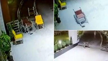 चंडीगढ़: सीसीटीवी कैमरे में कैद हुआ भूत? अस्पताल में खुद ही चलता हुआ दिखाई दिया व्हीलचेयर, Video देख हैरान हुए लोग, देखें वायरल वीडियो