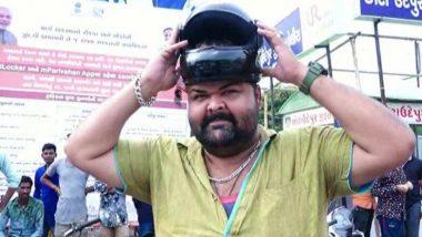 गुजरात: नए ट्रैफिक नियम लागू होने के बाद बिना हेल्मेट के बाइक चला रहा था शख्स, फिर भी नहीं कटा चालान, वजह जानकर आप हो जाएंगे हैरान