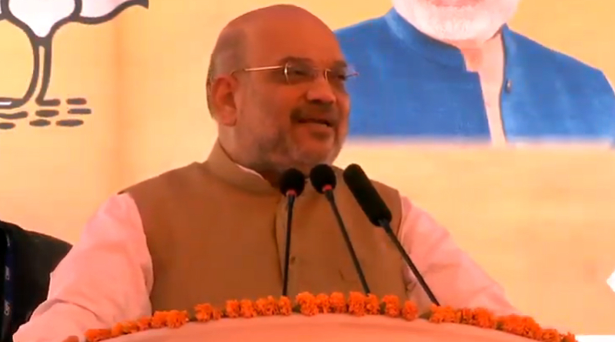 केंद्रीय गृह मंत्री अमित शाह ने जम्मू-कश्मीर को बताया भारत का अभिन्न अंग, अनुच्छेद 370 को लेकर विपक्ष पर साधा निशाना