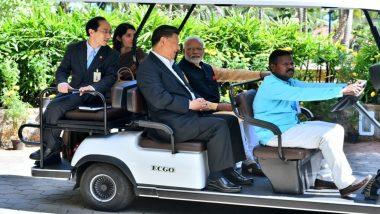 प्रधानमंत्री नरेंद्र मोदी और चीनी राष्ट्रपति शी जिनपिंग की वन ऑन वन बैठक संपन्न