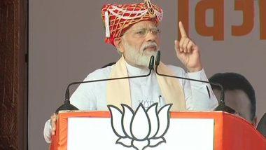 प्रधानमंत्री नरेंद्र मोदी ने चुनावी रैली में कहा- ये बदला हुआ हिंदुस्तान है, डरने वाला नहीं