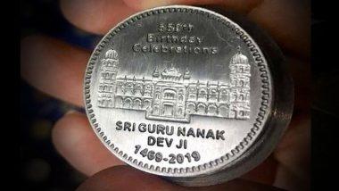 पाकिस्तान ने गुरु नानक देव के 550वें प्रकाश पर्व पर जारी किया सिक्का