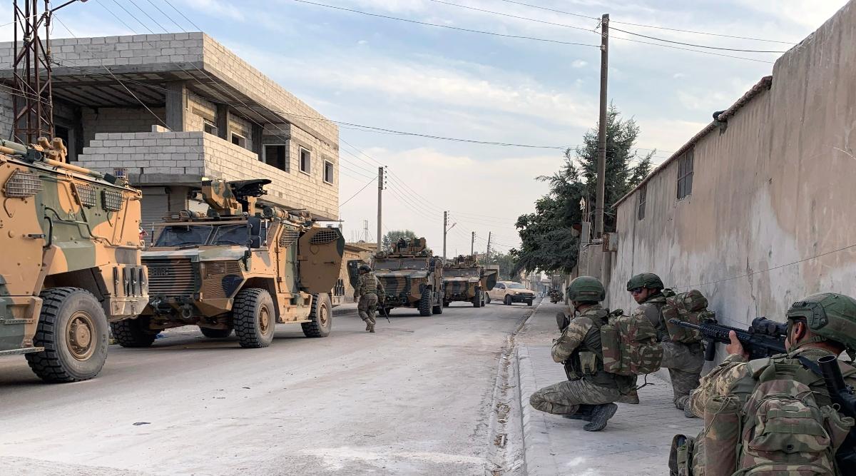 अमेरिकी सेना ने इस्लामिक स्टेट की 1500 महिलाओं को सीरिया से भेजा इराक