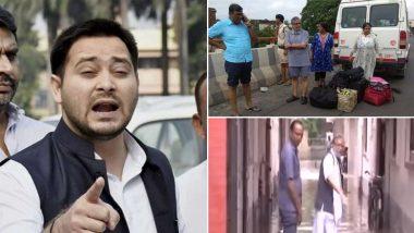 तेजस्वी ने नीतीश सरकार की खोली पोल, सुशील मोदी के घर में पिछले साल पानी घुसने वाला वीडियो किया शेयर, बेतुके बयानों पर भी बरसे