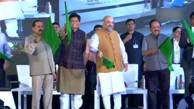 New Delhi-Katra वंदे भारत एक्सप्रेस को अमित शाह ने दिखाई हरी झंडी, कहा- अगले 10 सालों में J&K सबसे विकसित राज्य होगा