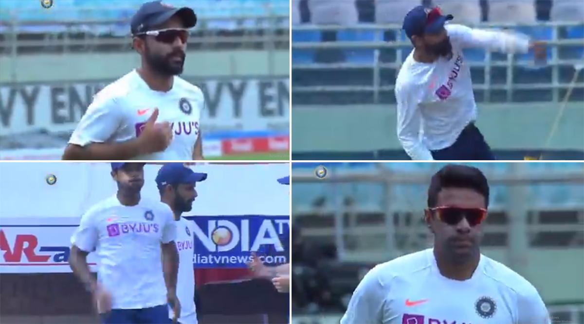Watch Video: पहले टेस्ट मैच के दूसरे दिन इस तरह भारतीय खिलाड़ियों ने बहाया पसीना