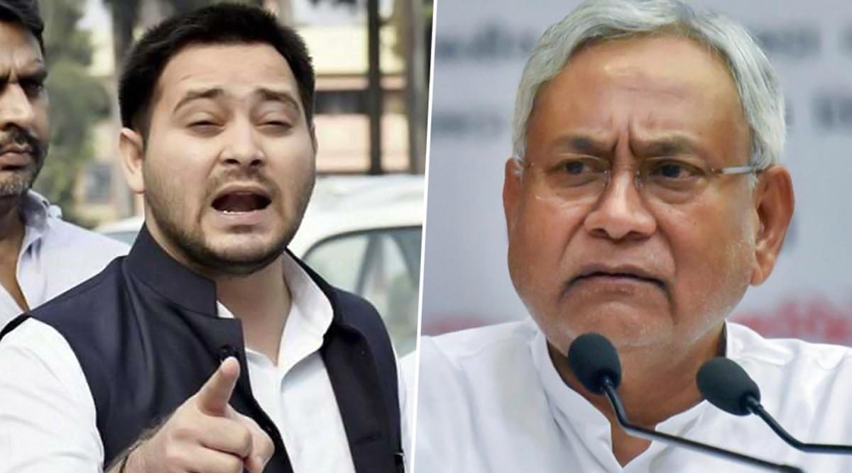 बिहार: तेजस्वी यादव ने नीतीश कुमार पर लगाया गंभीर आरोप, कहा- सीएम आवास में शराब माफिया मटरगस्ती करते हैं
