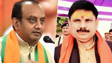 राज्यसभा उपचुनाव: बीजेपी ने यूपी से सुधांशु त्रिवेदी और बिहार से सतीश चंद्र दुबे को बनाया उम्मीदवार