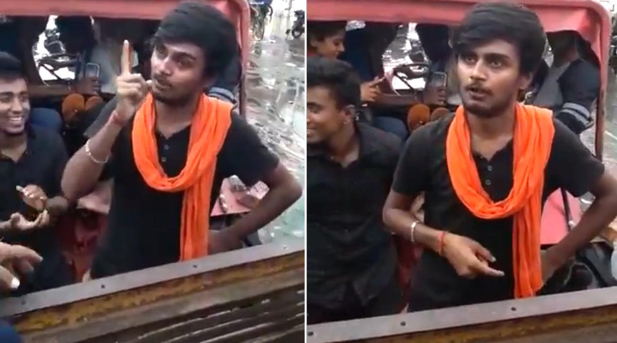 पटना जलजमाव: युवक ने लालू के अंदाज में CM नीतीश कुमार पर निकाली भड़ास, बीजेपी को भी घेरा, देखें वायरल वीडियो